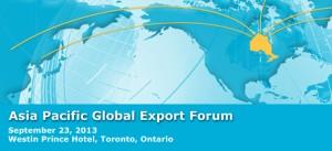 Asia Pacific Global Export Forum banner