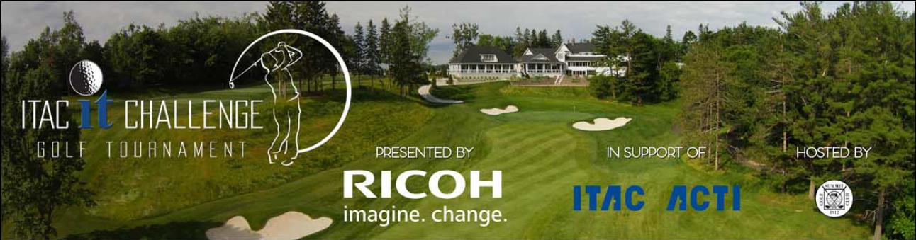 Golf Banner - Ricoh