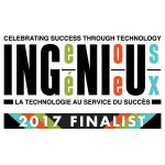 Finalists Announced for 2017 Ingenious Awards...Celebrating Excellence in use of ICT