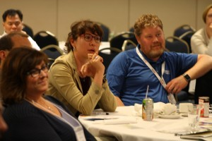 The audience at the National BTM Conference were attentive.