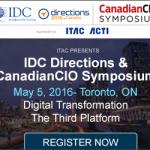 IDC Directions & Canadian CIO Symposium