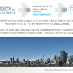 2017 Infoway Partnership Conference