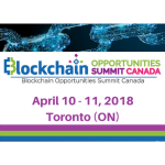 Blockchain Opportunities Summit Canada
